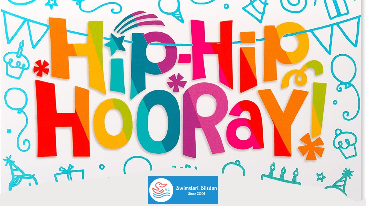 Hip Hip Hooray 🥳!