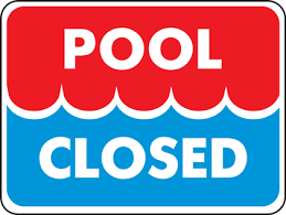 Pool closed from 1.30 pm on Wednesday 26 May until Thursday morning 27 May